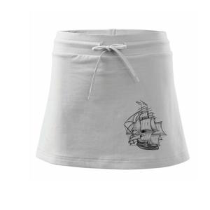 Plachetnice velká - Sportovní sukně - two in one