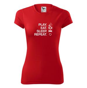 Play Eat Sleep Repeat badminton - Dámské Fantasy sportovní