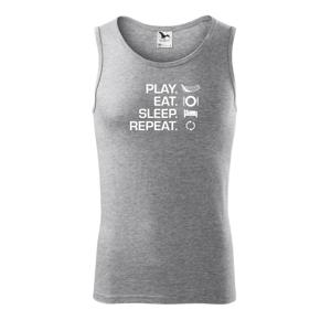Play Eat Sleep Repeat florbal - Tílko pánské Core