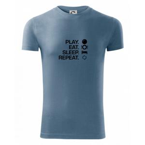 Play eat sleep squash - Viper FIT pánské triko
