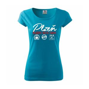 Plzeň město s tradicí - Pure dámské triko