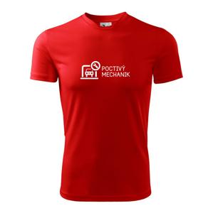 Poctivý mechanik - Dětské triko Fantasy sportovní (dresovina)