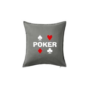 Poker znaky - Polštář 50x50