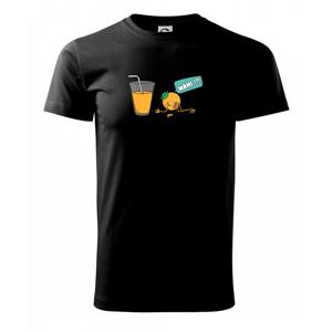 Pomeranč juice - Triko Basic Extra velké