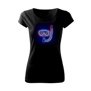 Potápěč neon - Pure dámské triko