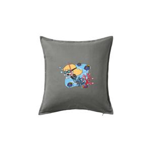 Potápka holka - Polštář 50x50
