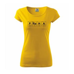 PRaHA - periodická tabulka - Pure dámské triko