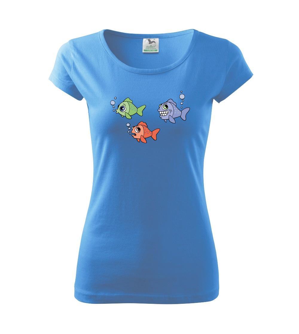Prdící ryba (Hana-creative) - Pure dámské triko