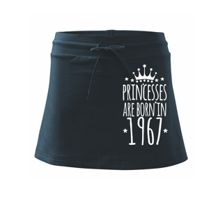 Princesses are born in 1967 - Sportovní sukně - two in one