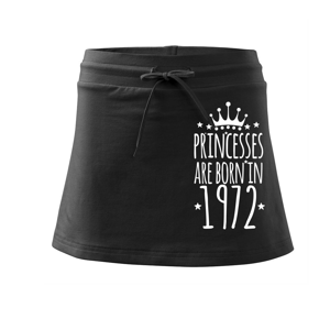 Princesses are born in 1972 - Sportovní sukně - two in one