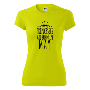 Princesses are born in may - Dámské Fantasy sportovní (dresovina)