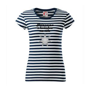 Princezna s hvězdou na těle - Sailor dámské triko