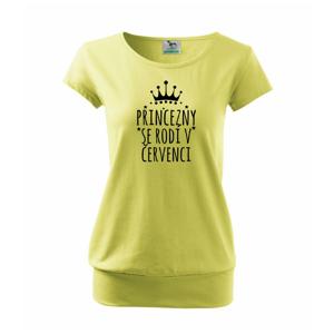 Princezny se rodí v červenci - Volné triko city