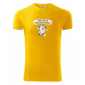 Pro mě je králem zvířat kráva - Viper FIT pánské triko