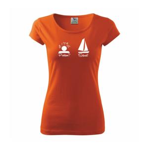 Problem solved - plachetnice - Pure dámské triko