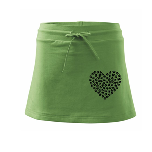 Psí láska - Sportovní sukně - two in one