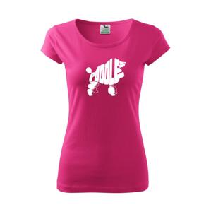 Pudl - Pure dámské triko