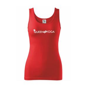 Queen Of Yoga - Tílko triumph