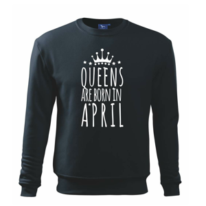 Queens are born in April - Mikina Essential dětská