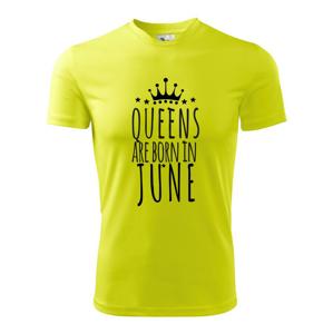 Queens are born in June - Dětské triko Fantasy sportovní (dresovina)