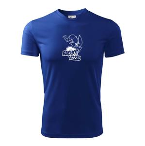 Rachot žížal - Pánské triko Fantasy sportovní (dresovina)