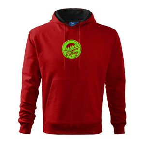 Rafting emblem - Mikina s kapucí hooded sweater