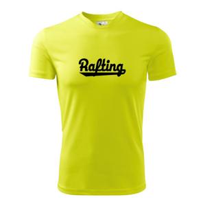 Rafting nápis - Pánské triko Fantasy sportovní (dresovina)