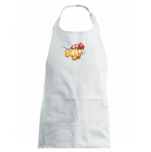 Raketová ryba - Dětská zástěra na vaření