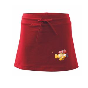 Raketová ryba - Sportovní sukně - two in one