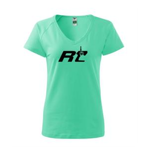 RC nápis ovladač - Tričko dámské Dream