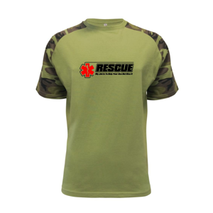Rescue My Job Is To Save Your Ass Not Kiss It - Raglan Military