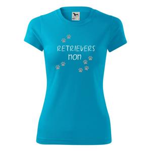 Retrievers mom  (Retrívr) (Reflexní tlapky) - Dámské Fantasy sportovní (dresovina)