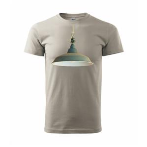 Retro lampa - Heavy new - triko pánské