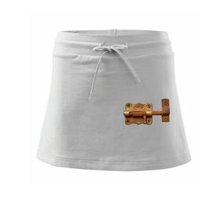 Rezavá petlice - Sportovní sukně - two in one