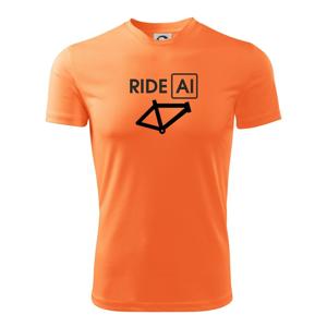 Ride Al - Dětské triko Fantasy sportovní (dresovina)