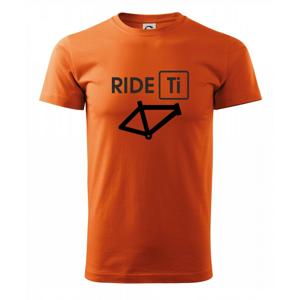 Ride Ti - Heavy new - triko pánské