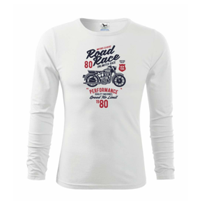 Road Race Motorcycle - Triko dětské Long Sleeve