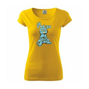 Robot, já v pátek - Pure dámské triko