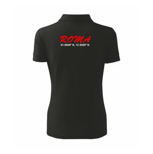 Roma GPS - Polokošile dámská Pique Polo