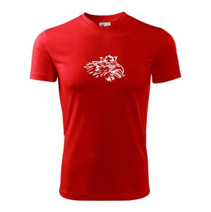 Rozezlený orel - Dětské triko Fantasy sportovní (dresovina)