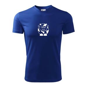 Roztomilá kráva - Pánské triko Fantasy sportovní (dresovina)