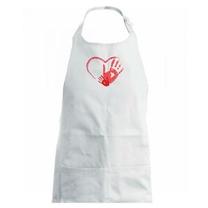 Ručičky v srdci - Zástěra na vaření