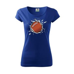 Rugby míč v triku - Pure dámské triko