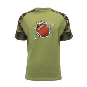 Rugby míč v triku - Raglan Military