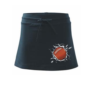 Rugby míč v triku - Sportovní sukně - two in one