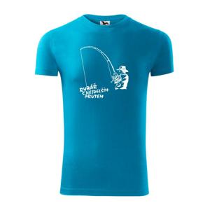 Rybář s nejdelším prutem - Replay FIT pánské triko