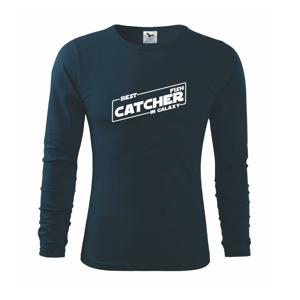 Rybaření - Best fish catcher in galaxy - Triko s dlouhým rukávem FIT-T long sleeve