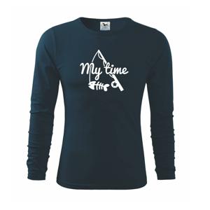 Rybaření - My time - Triko s dlouhým rukávem FIT-T long sleeve