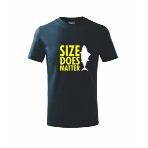 Rybaření - Size does matter - Triko dětské basic