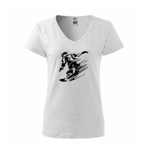 Rychlý snowboardista - Tričko dámské Dream